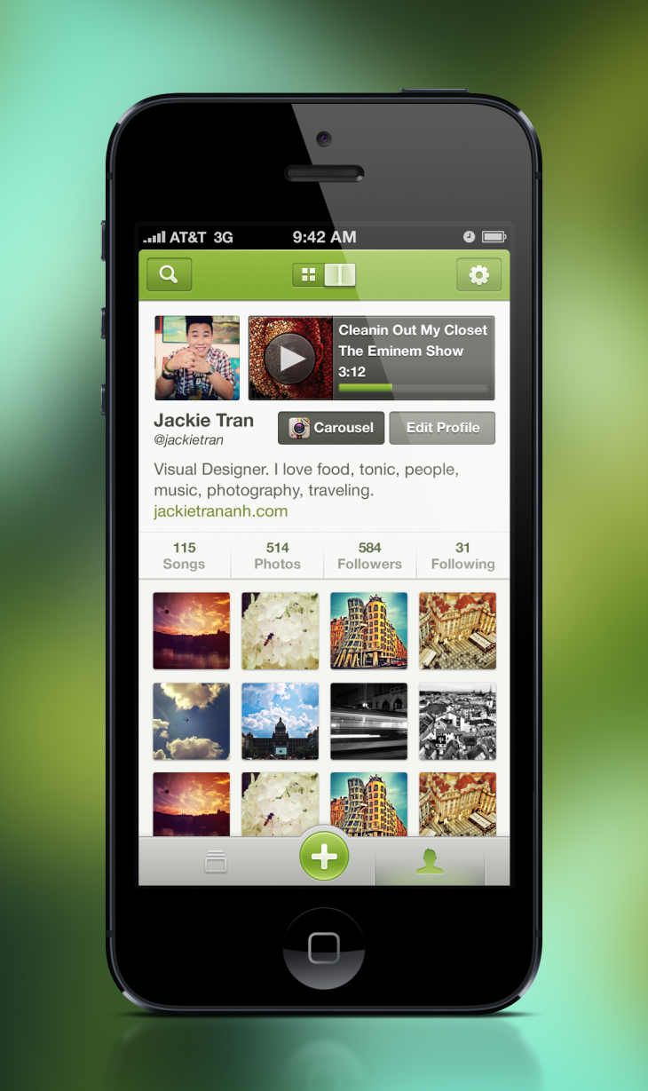 12 Best Examples Of App Profile Page Designs Design