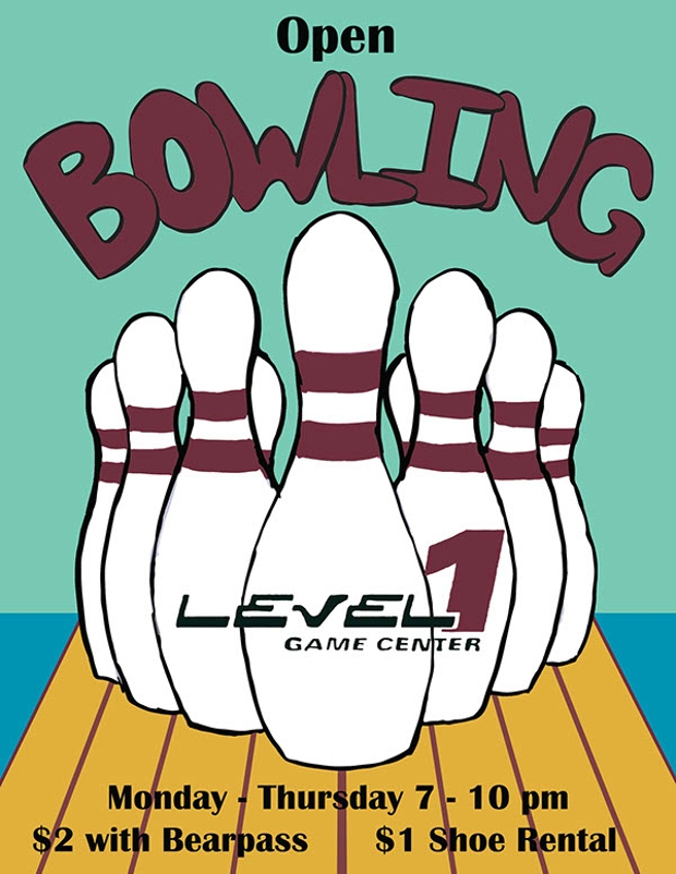 Retro Style Bowling Flyer