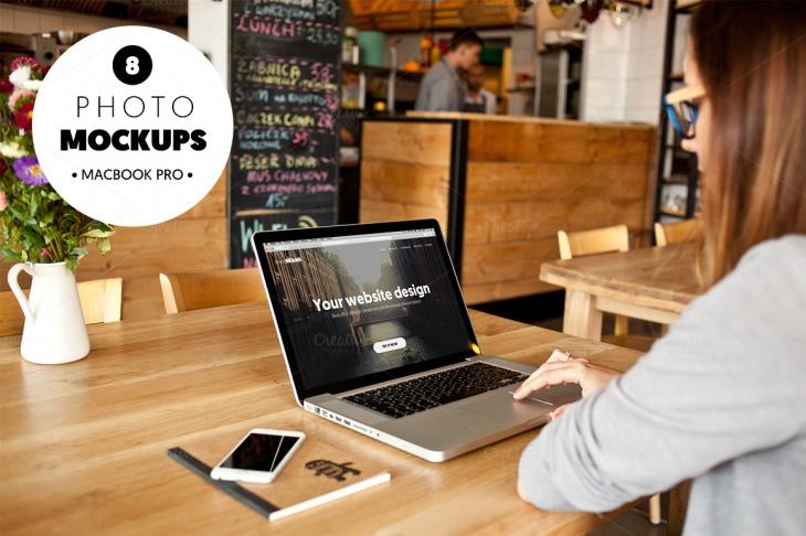 Photorealistic MacBook Pro Mockup