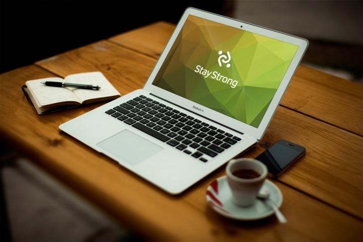 Classy Look Macbook Pro Mockup