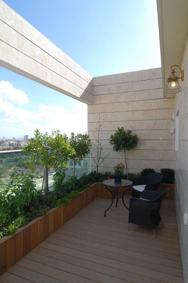 Exterior Mediterranean Deck Design