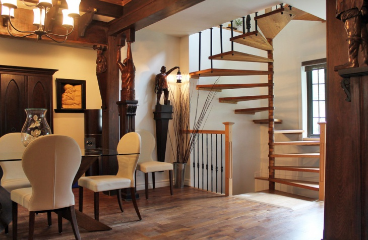 Elegant Staircase Design Idea