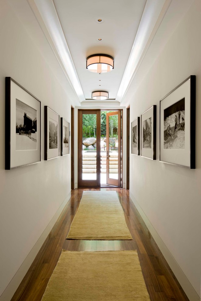 21 hallway light designs ideas plans design trends for Drawing hall wall designs