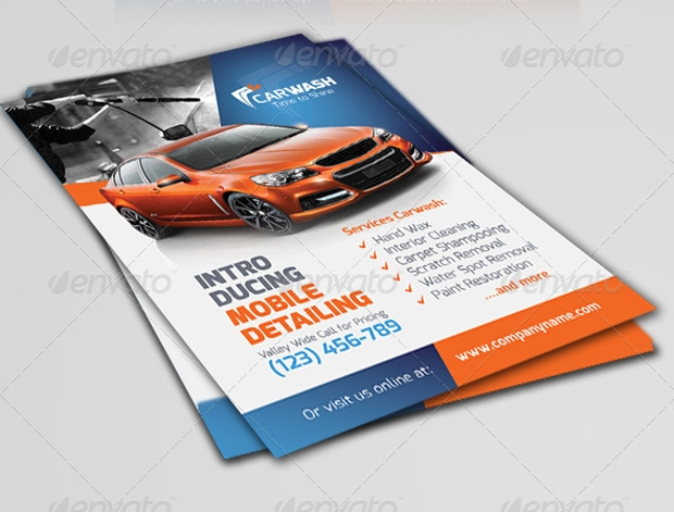 Car Wash Flyer Designs Psd Download  Design Trends  Premium