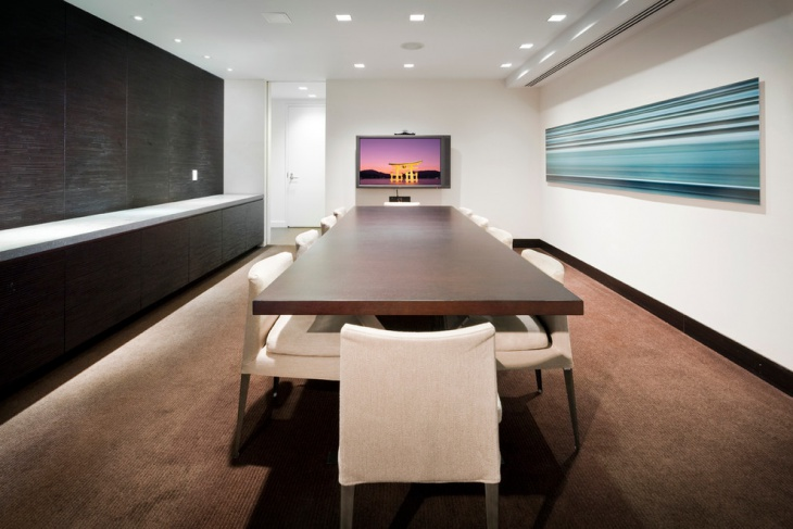 luxurious conference room design