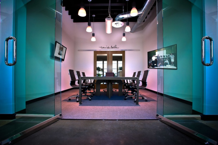 classy conference room with rich look