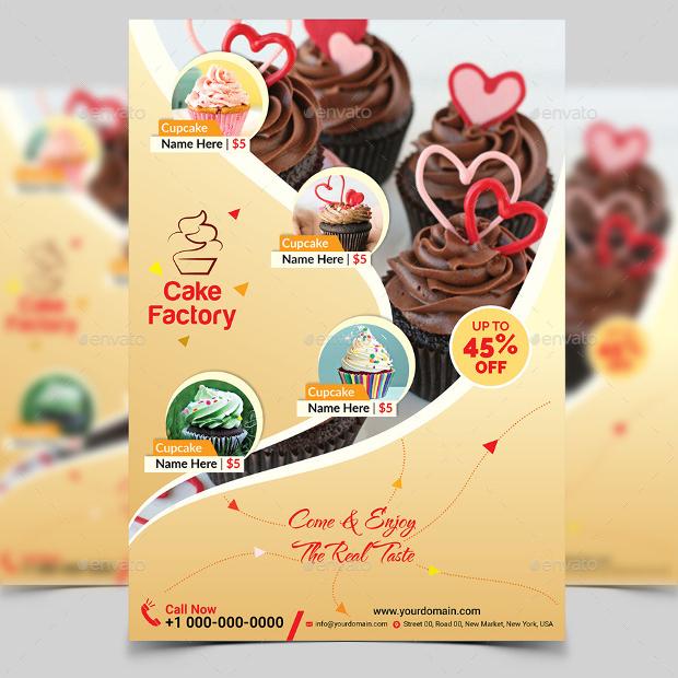 Elegant Cupcake Flyer