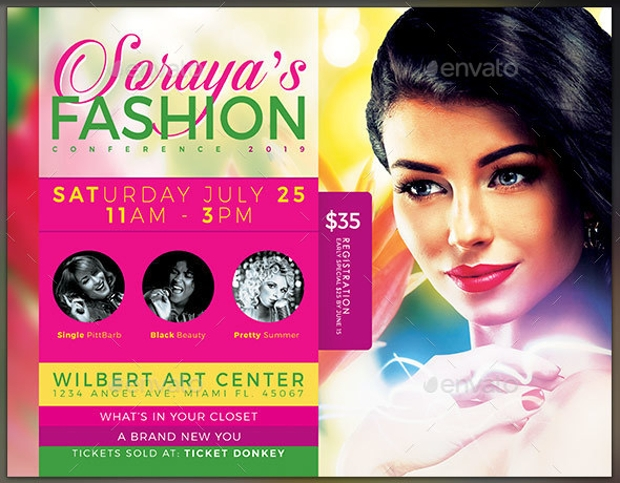 Fashion Conference Flyer Design