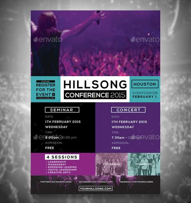 Design Trends Premium Psd: 38+ Conference Flyer Designs