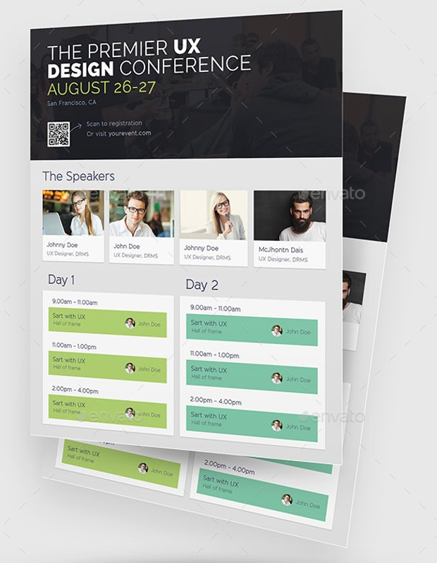 Conference Event Flyer Design