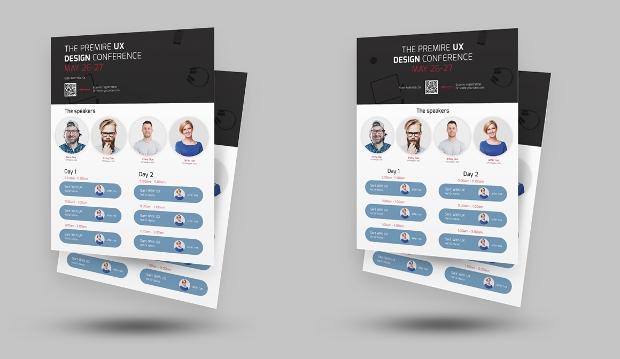 Simple Conference Flyer Template