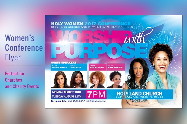 Multipurpose Womens Conference Flyer