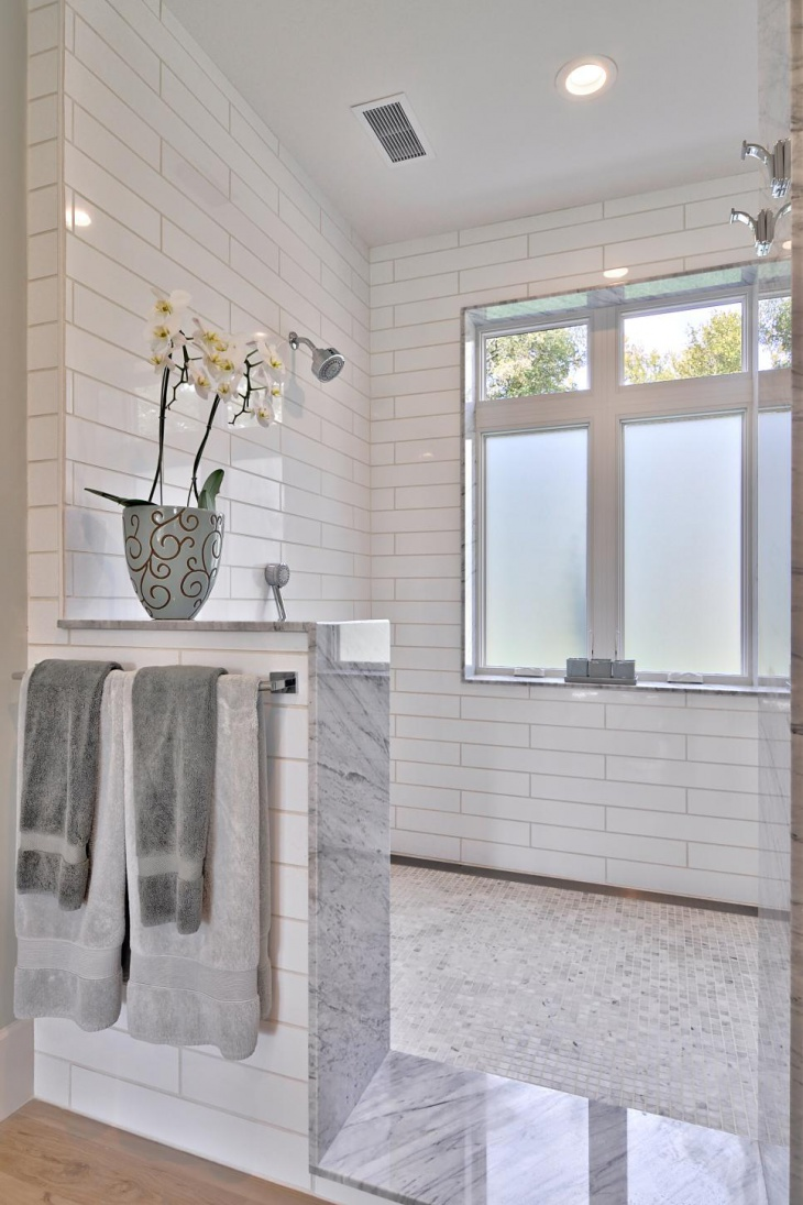 Classic White Bathroom Design