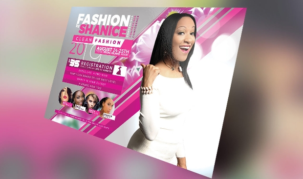 Amazing Design for Fashion Conference Flyer