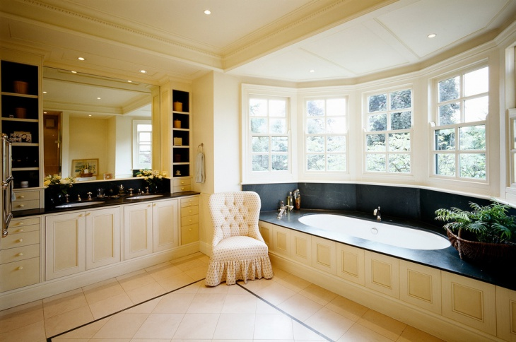 beautiful classic bathroom idea