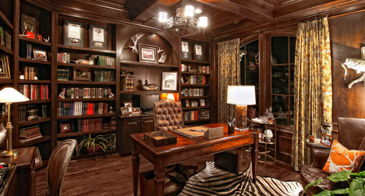 Gothic Office By Jessica Helgerson Interior Design: 16+ Gothic Office Designs, Decorating Ideas