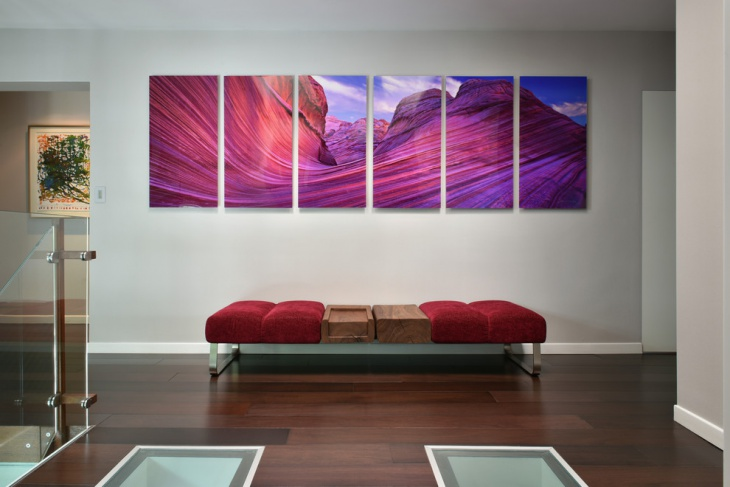 hallway wall mural decor