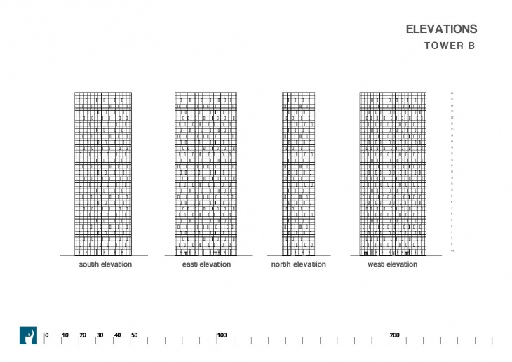 Elevation Tower B