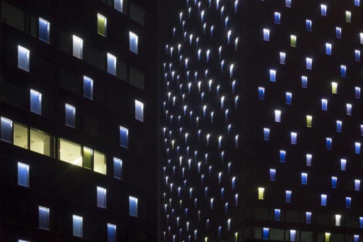 A Closer View at Night