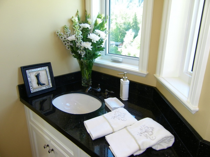Granite Bathroom Countertop Designs Ideas Plans Design