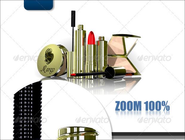 gift cosmetic branding set