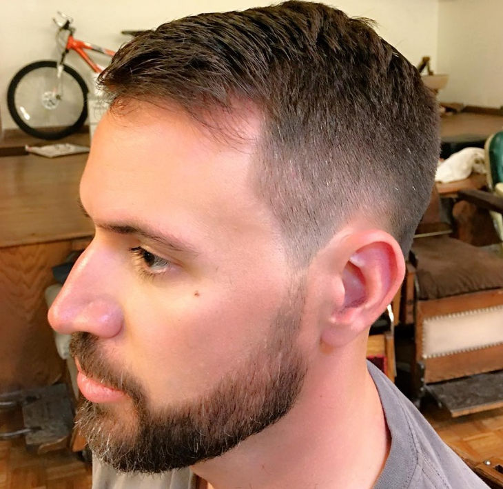 Fade Military Haircut Hairs Picture Gallery