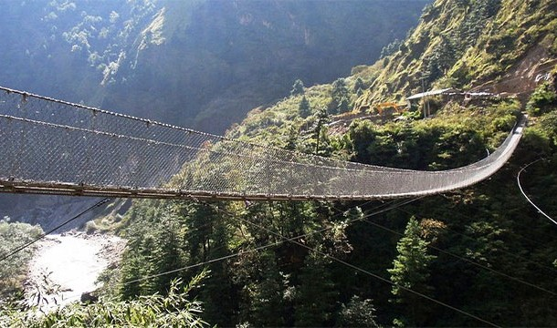 Hanging Bridge of Gasha