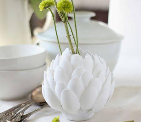 Spoon Sculpture Vase