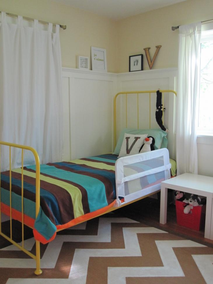 Yellow Bedroom Design1