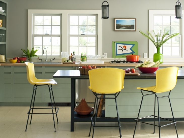 Lemon Yellow Chair Design