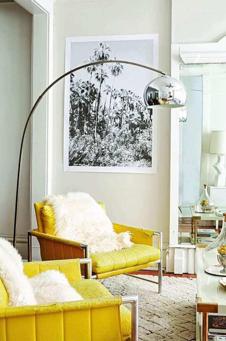 Yellow Sofa Chairs