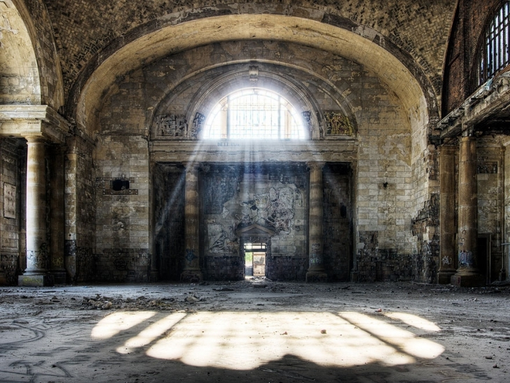 michigan central station in detroit u