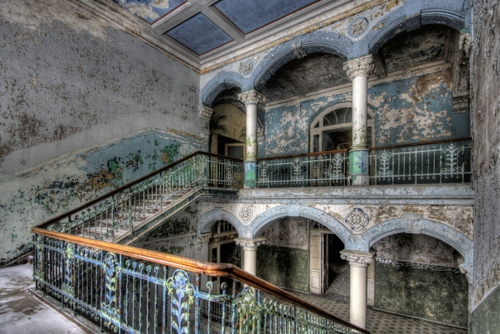 abandoned military hospital in beelitz germany