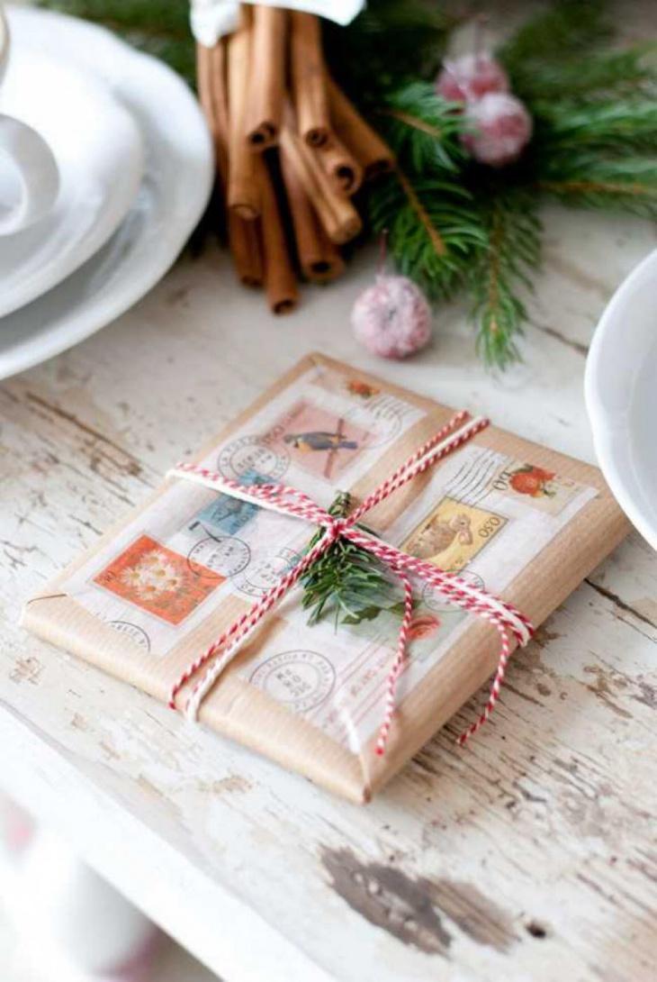 gift wrap post