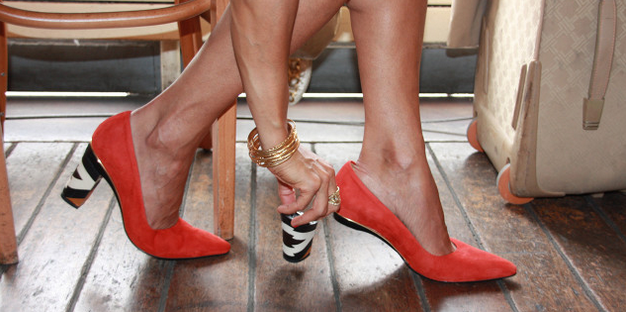removable heel