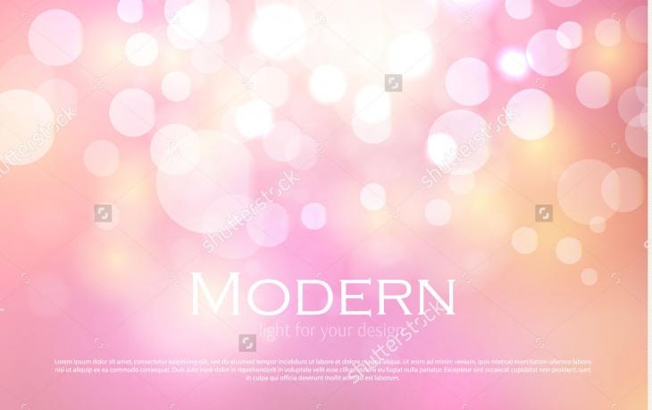Pink Bokeh Background Texture