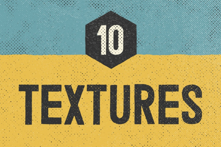 Halftone Screen Print Textures