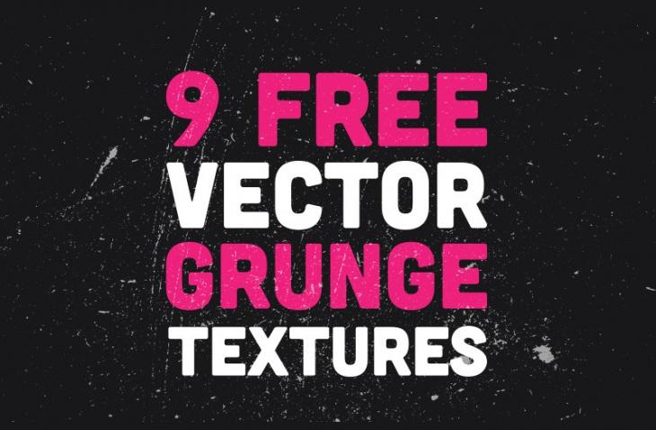 9 Vector Grunge Textures