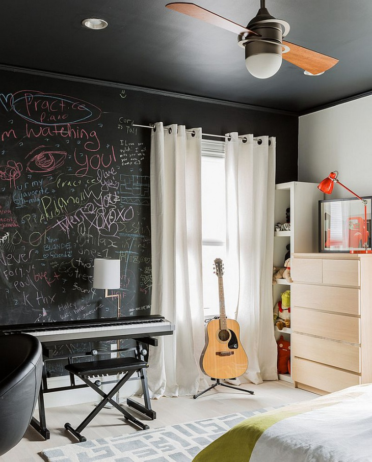 chalkboard wall design