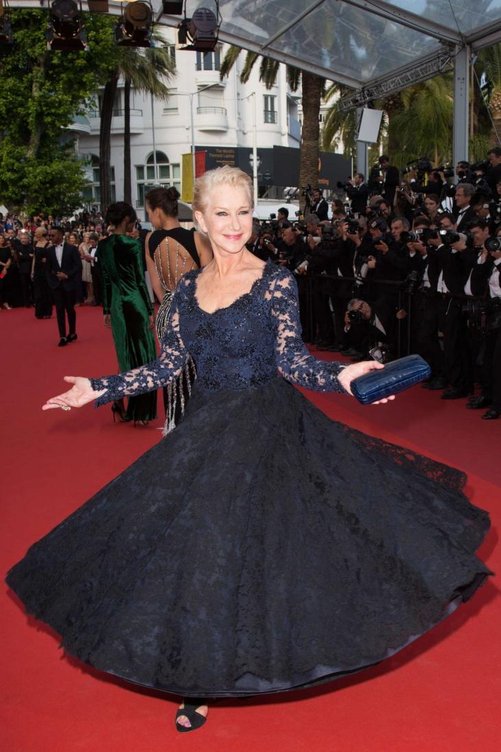 Helen Mirren at Cannes Film Festival