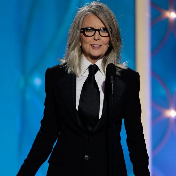 Diane Keaton Hollywood Icon