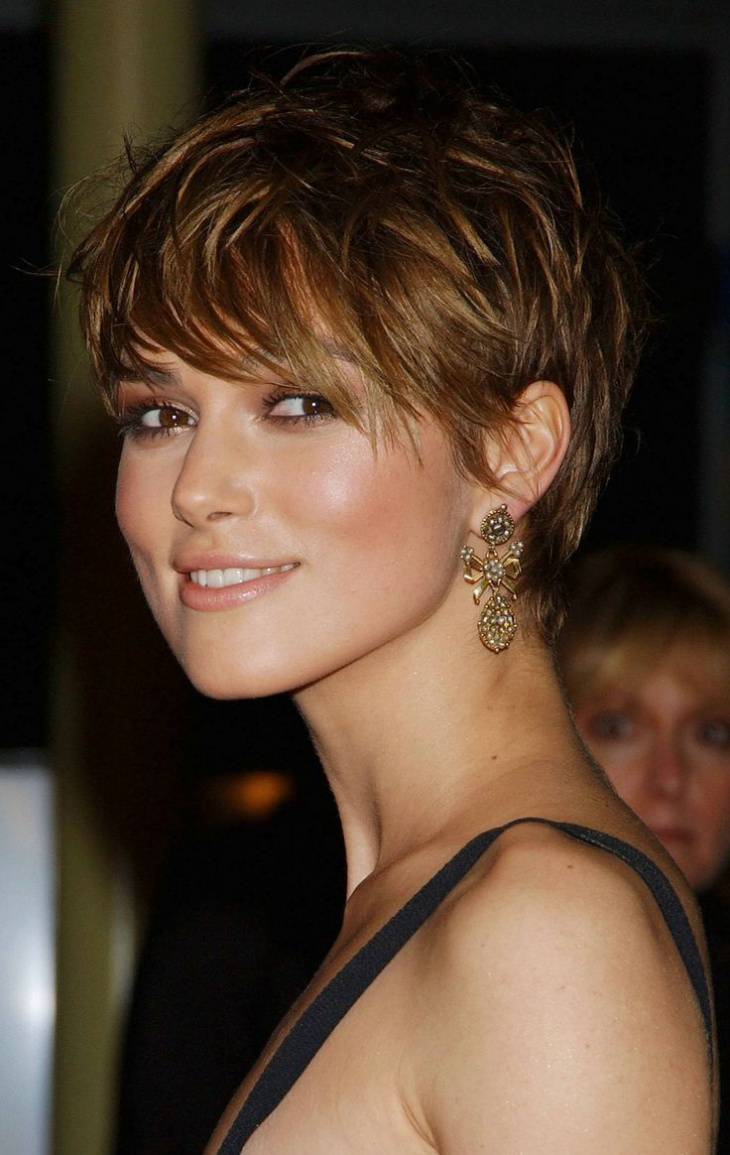 Keira Knightley Edgy Hairstyle