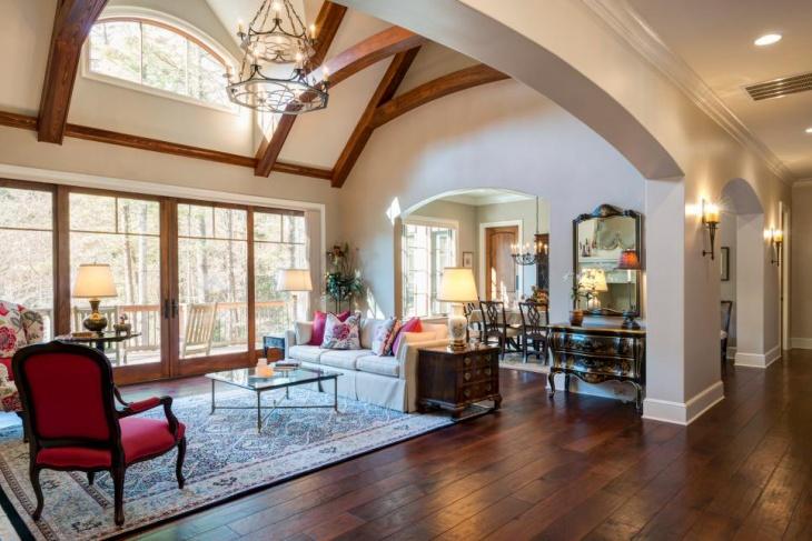 Beautiful Living Room Chandelier Design