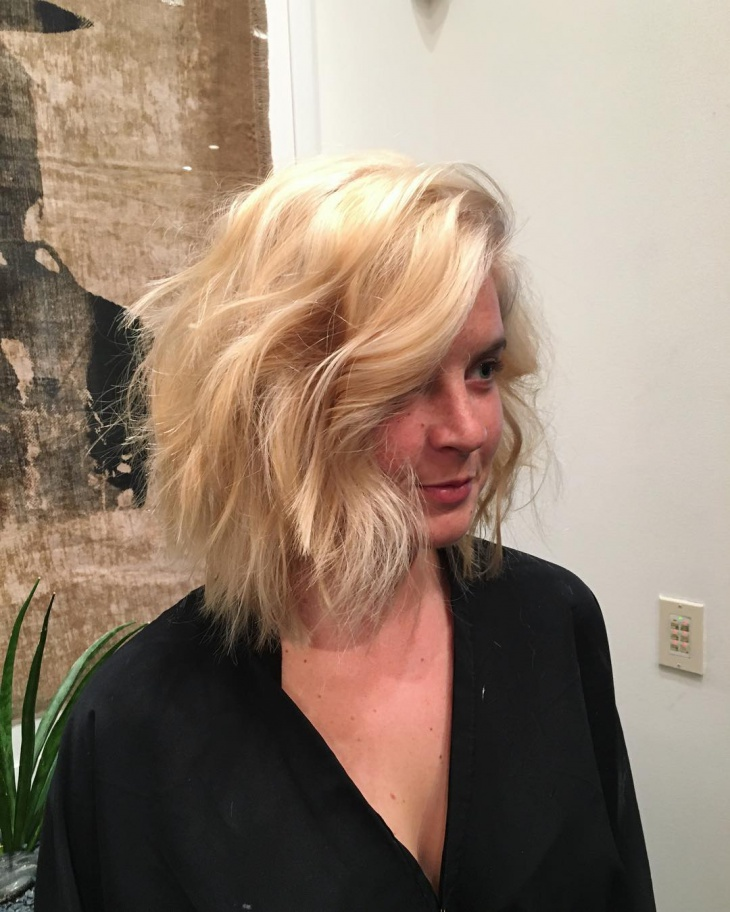 Short Edgy Cut For thick Hair