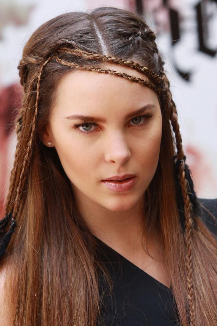 Belinda Bohemian Hairstyle