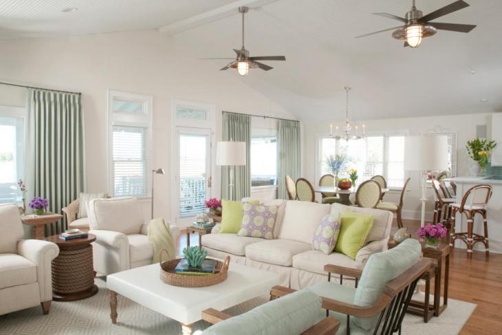 coastal living room idea