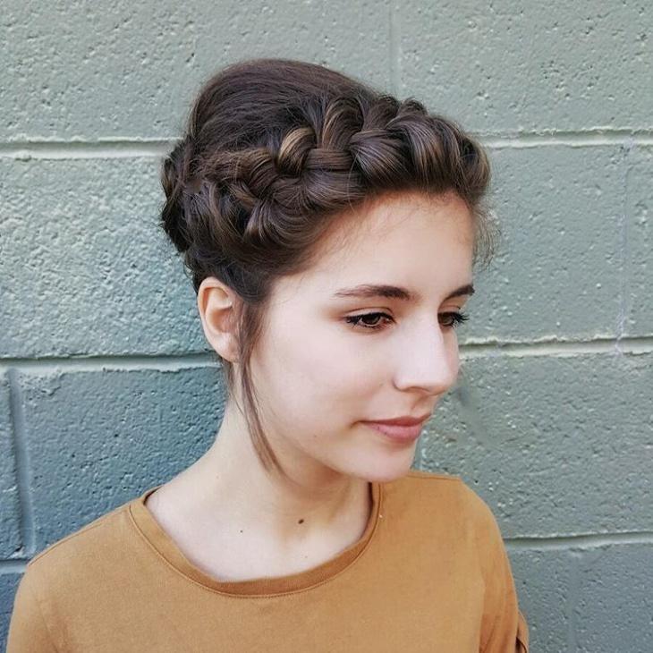 Bohemian Hairstyle for Fair Skin