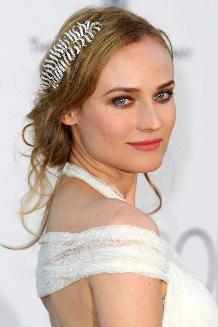 diane kruger princess wedding hairstyle