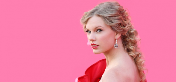 Taylor Swift Princess Wedding Hairstyle