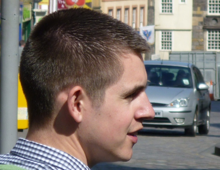 simple buzz haircut idea1